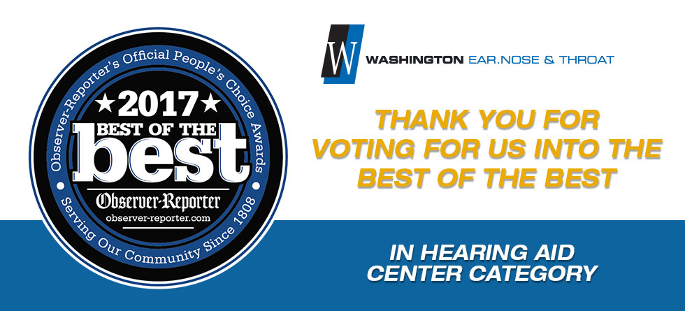 Vote for Best Hearing Aid Center - Washington ENT